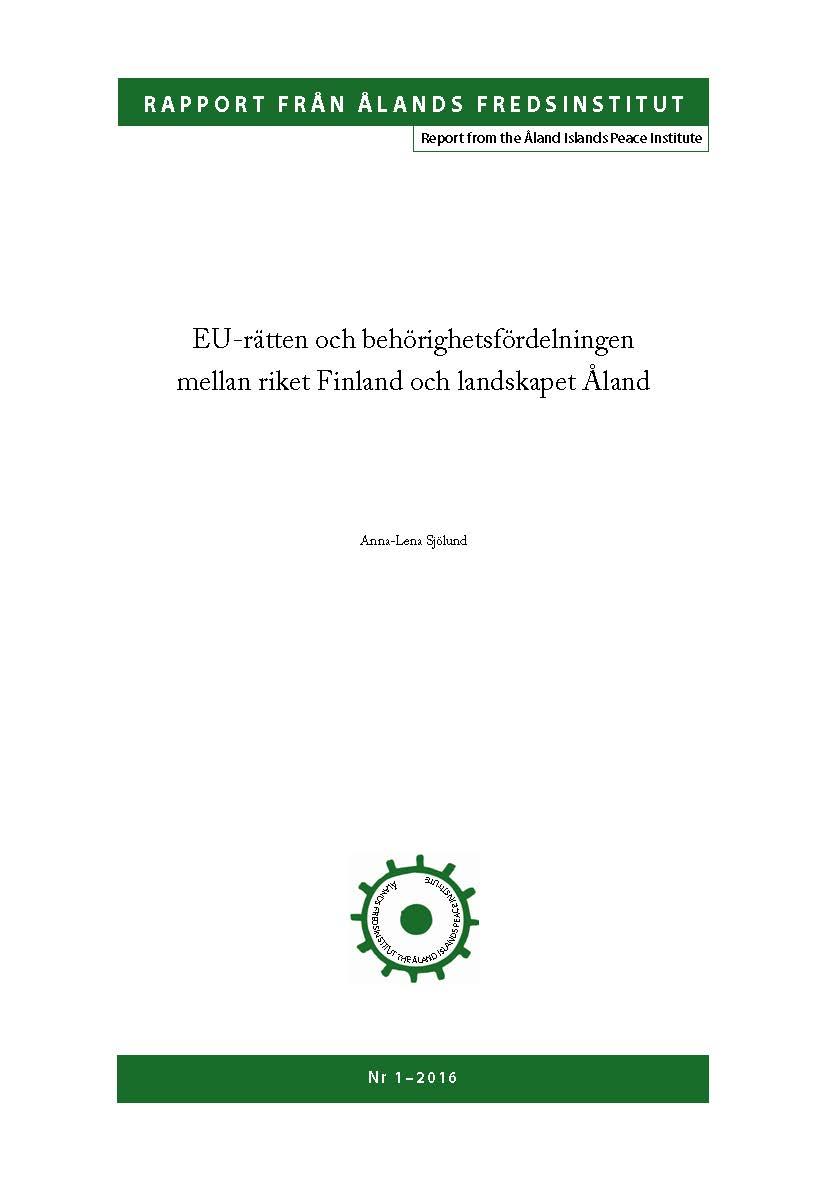 Rapport 1 2016 Anna Lena Sjolund Page 01