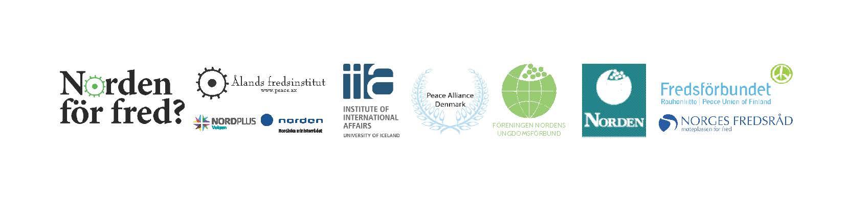 Norden for fred Alla logos