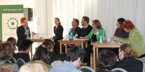 Nordiskt fredsforum panel