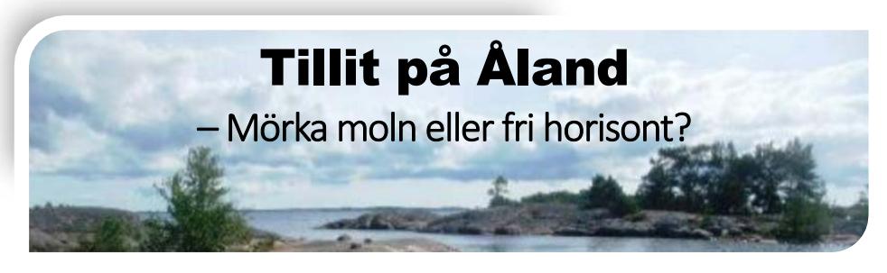 Tillit på Åland