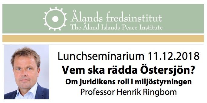 Lunchseminarium 11.12.2018 Ringbom