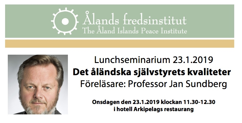 Sundberg lunchseminarium