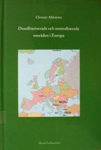 Demilitariserade och neutraliserade områden i Europa