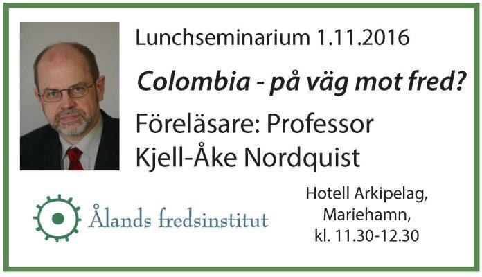 FB3 Lunchseminarium KAN 1.11.2016