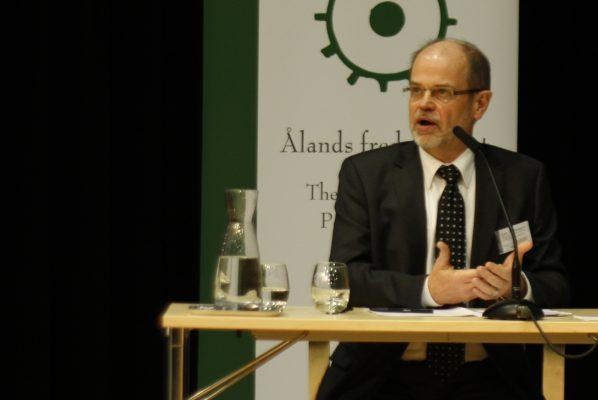 Kjell Åke talar