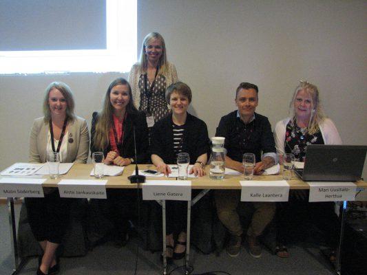 Nordiskt forum 2014 Panelen och moderator