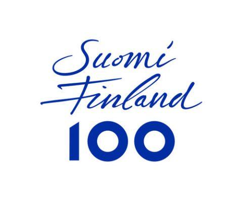 SuomiFinland100 tunnus sininen RGB